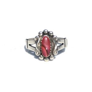 Wheeler WM Vintage Sterling Silver Ring 4.5 Pinky